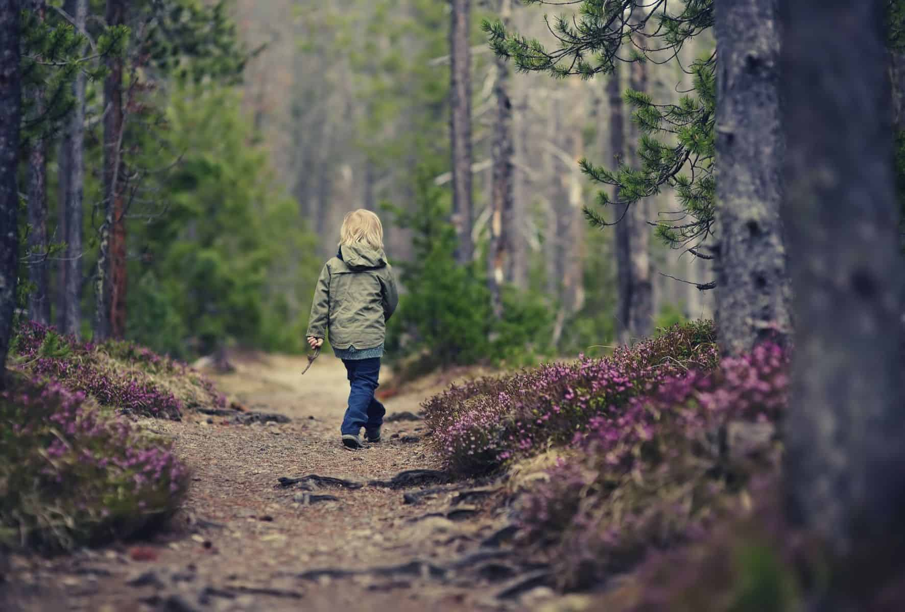 hiking with kids featimage
