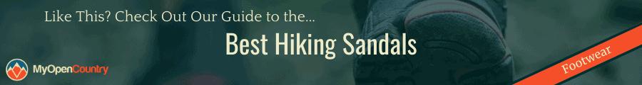 Best Hiking Sandals Banner