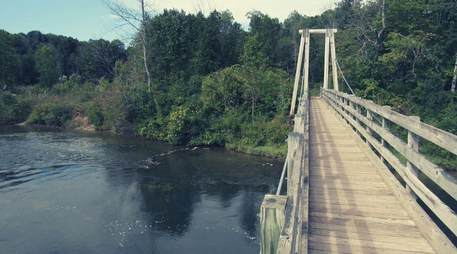 Bridge over Manistee