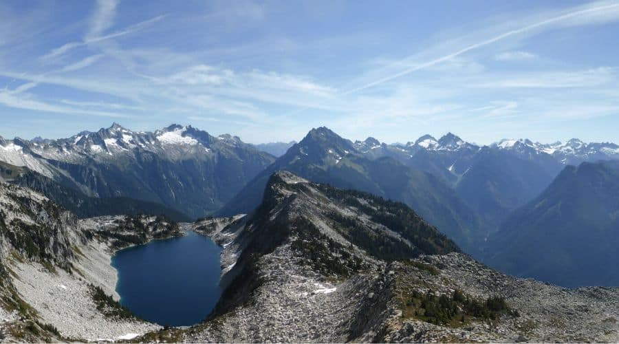 Hidden Lake Lookout Panorama