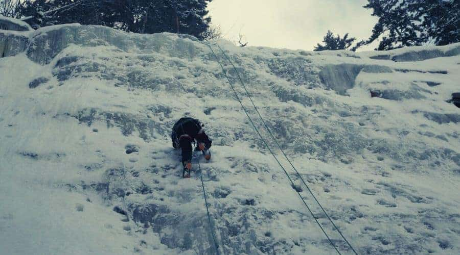 Arethusa Falls Ice Climbers