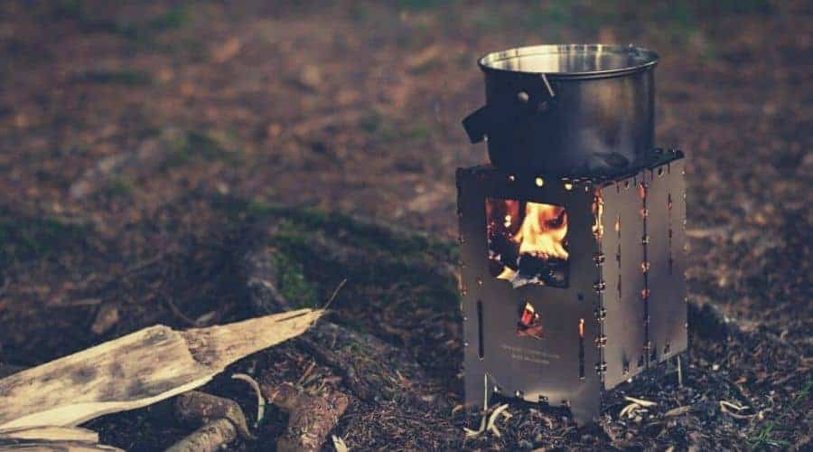 wood burning backpacking stove intext