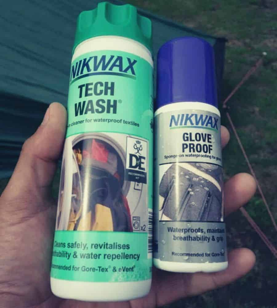 Nikwax DWR Coatings Vertintext