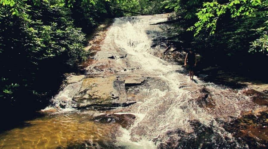 Helton Creek falls 3