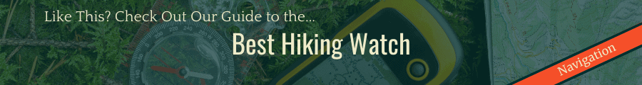 Best Hiking Watch Banner