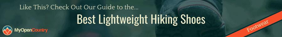 Best Lightweight Hiking Shoes Banner