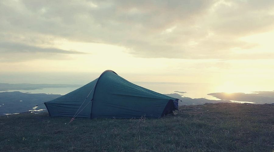 tent on scottish hillside_intext