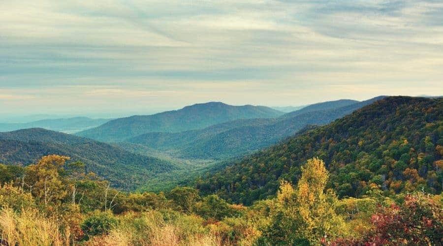 Pinnacles Overlook Shenandoah National Park