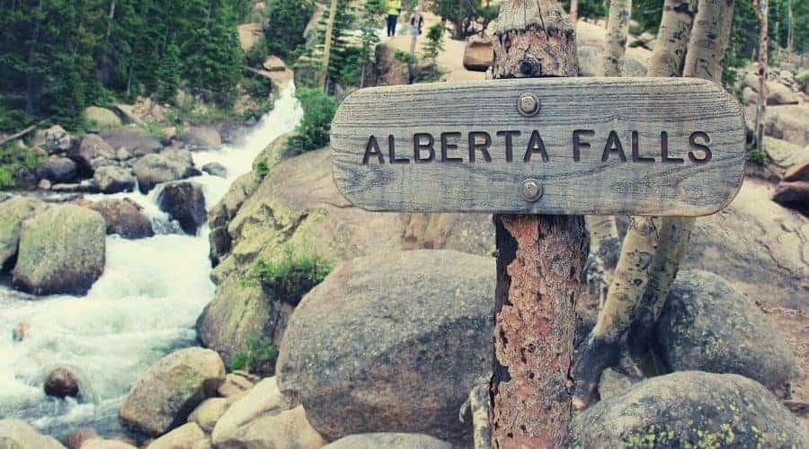 Alberta Falls intext