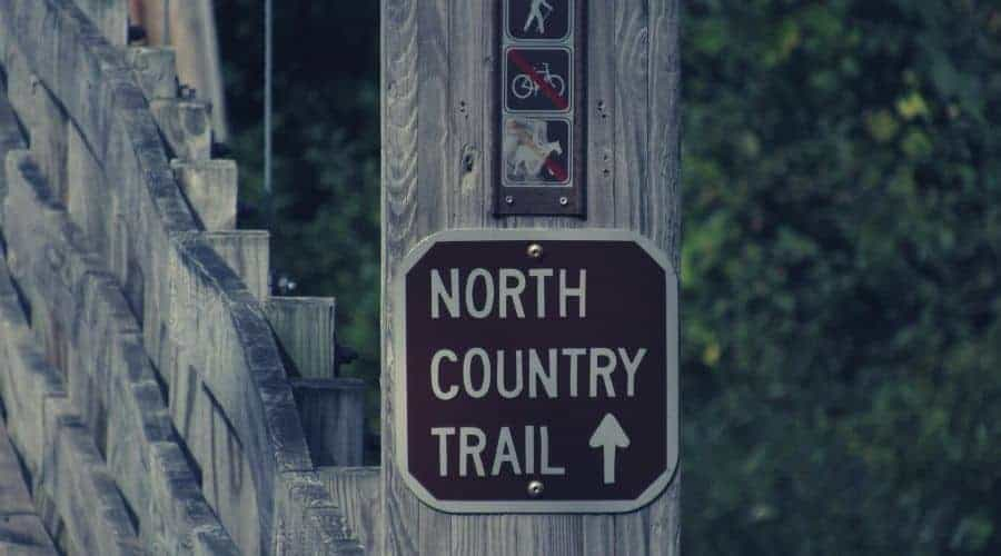 Manistee north country trail sign intext (1)