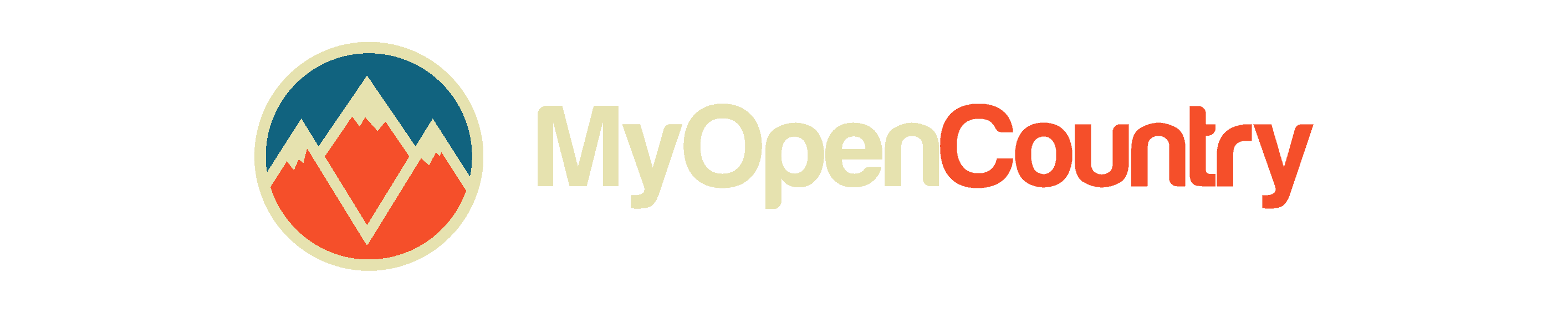 My Open Country Light Logo