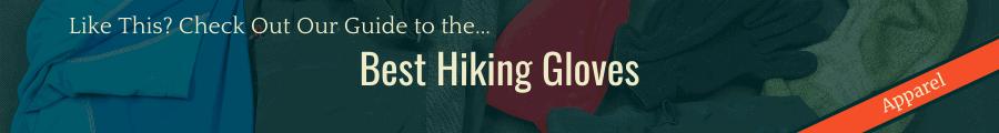 Best Hiking Gloves Banner