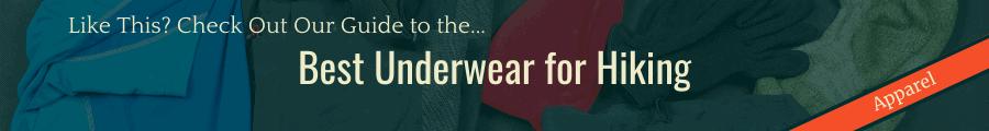 Best underwear for hiking Banner