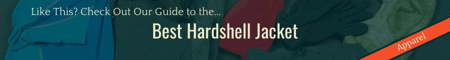 Best Hardshell Jacket Banner