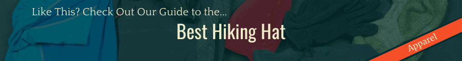 Best Hiking Hat Banner