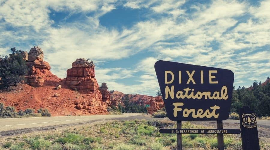 Dixie National Forest Utah