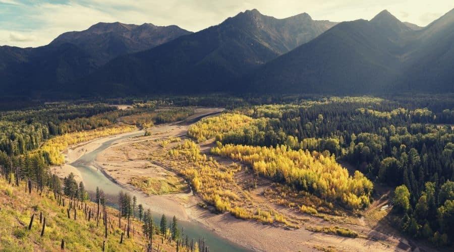 Flathead National Forest, montana