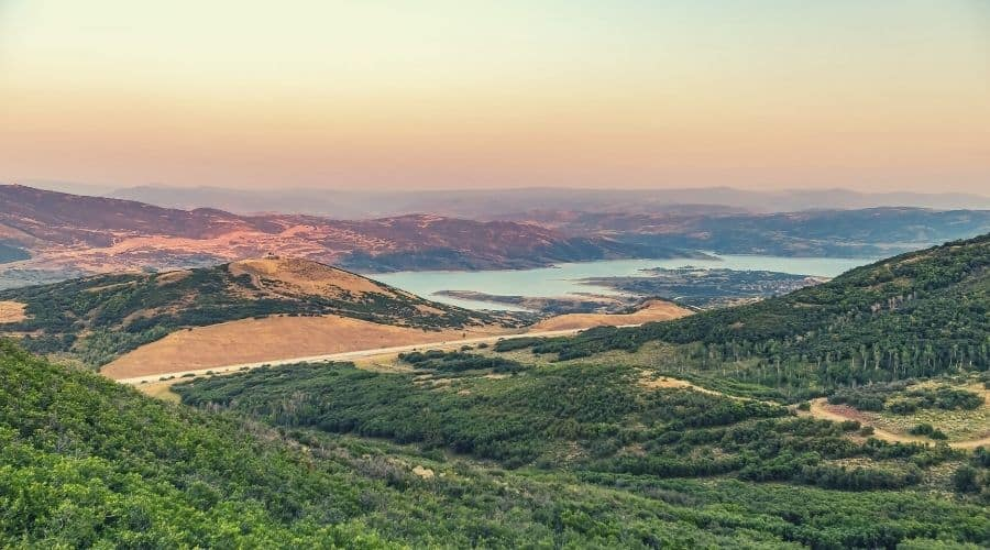 Jordanelle Reservoir State Park Utah