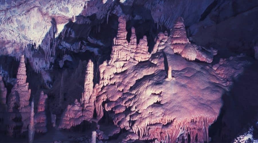 Lewis and Clark Caverns, montana