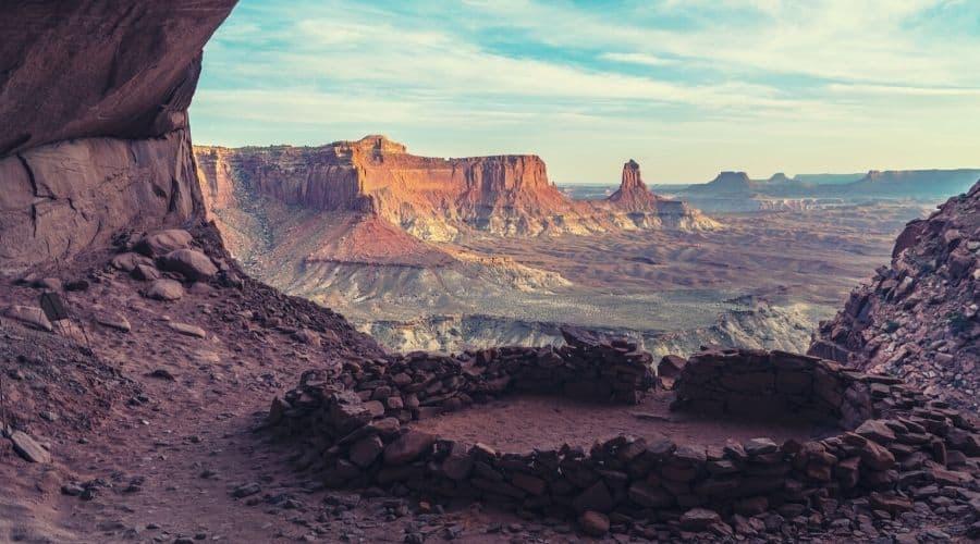 Ruins in Canyonlands National Park Utah