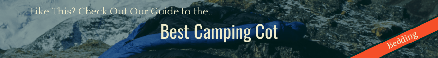 Best Camping Cot Banner