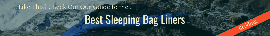 Best Sleeping Bag Liners Banner