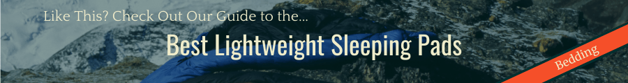 Best Sleeping Pads Banner