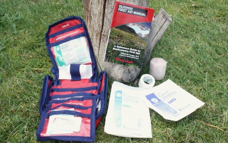 HART Health Outdoor Weekend First Aid Kit Contents