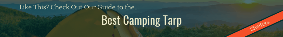 Best Camping Tarp Banner