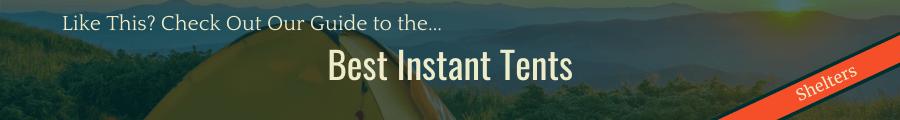 Best Instant Tents Banner