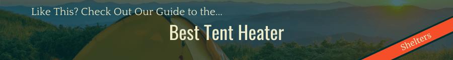 Best Tent Heater Banner