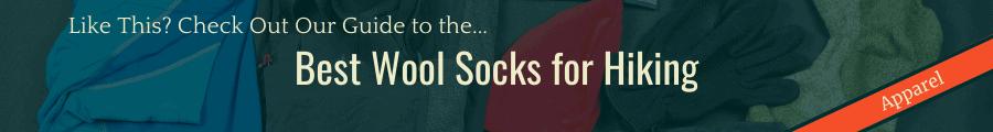 Best Wool Socks Banner