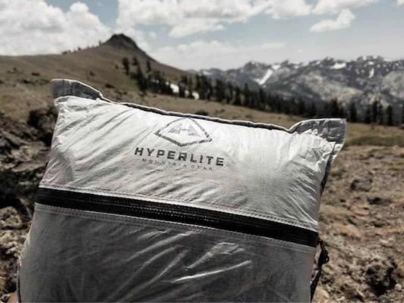 Hyperlite stuff sack pillows