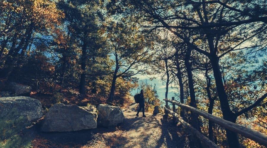 Bear Mountain Trail, Mount Riga State Park
