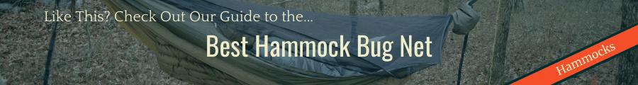 Best Hammock Bug Net Banner