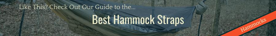 Best Hammock Straps Banner