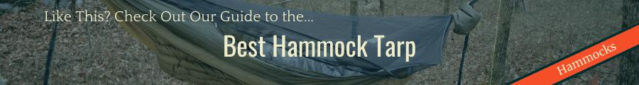 Best Hammock Tarp Banner
