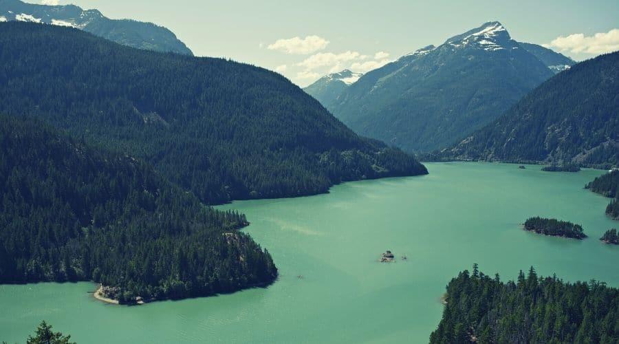 Diablo Lake Trail, North Cascades National Park