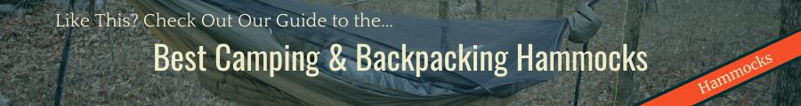 Best Camping & Backpacking Hammocks Banner