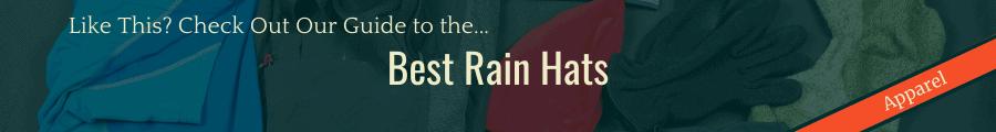 Best Rain Hat Banner