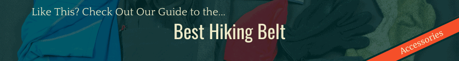 Best Hiking Belt Banner