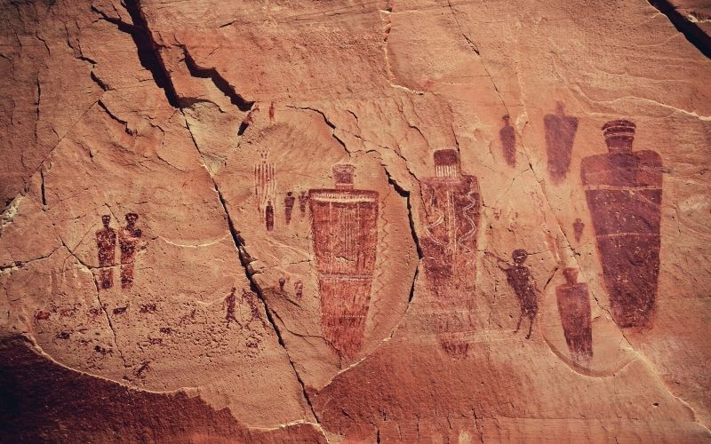 Great Gallery, horsehoe canyon