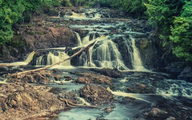 North Country Scenic Trail, Copper Falls State Park