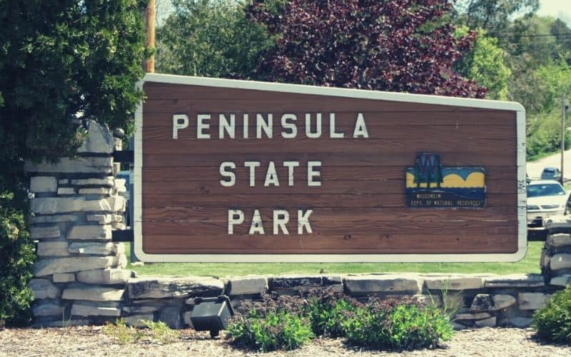 Sentinel Trail, Peninsula State Park