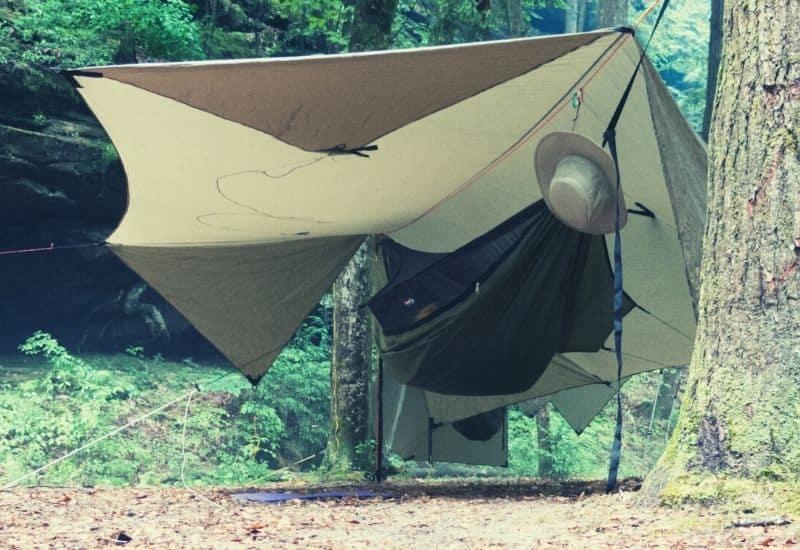 best sleeping pad for hammock camping - featimg