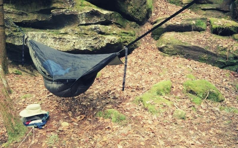 hammock with bug net and underquilt