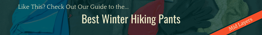 Best Winter Hiking Pants Banner