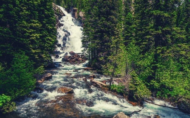 Hidden Falls & Inspiration Point