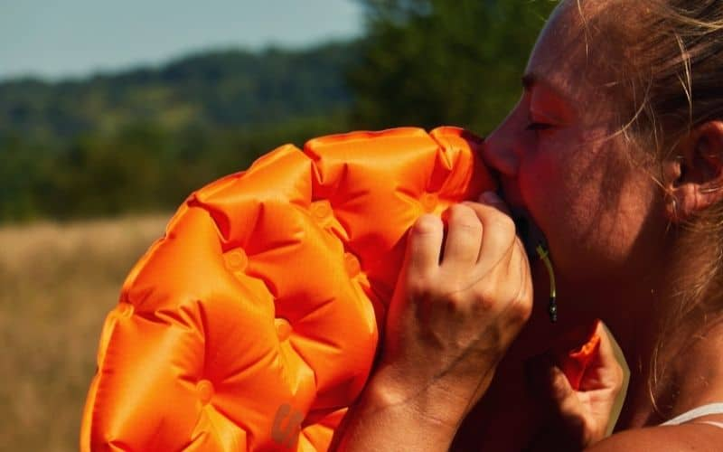 Inflating the Sea to Summit Sleeping Pad