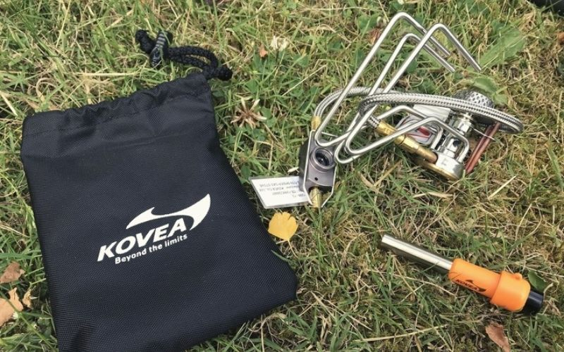 Kovea Spider packed down
